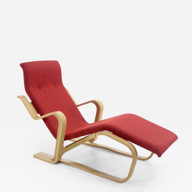 Marcel Breuer Iconic Marcel Breuer Bentwood Lounge Chair