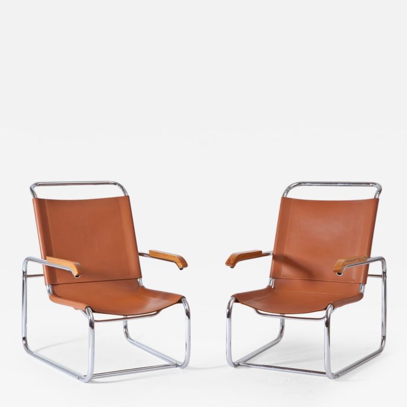 Marcel Breuer Marcel Breuer B 35 Lounge Chairs