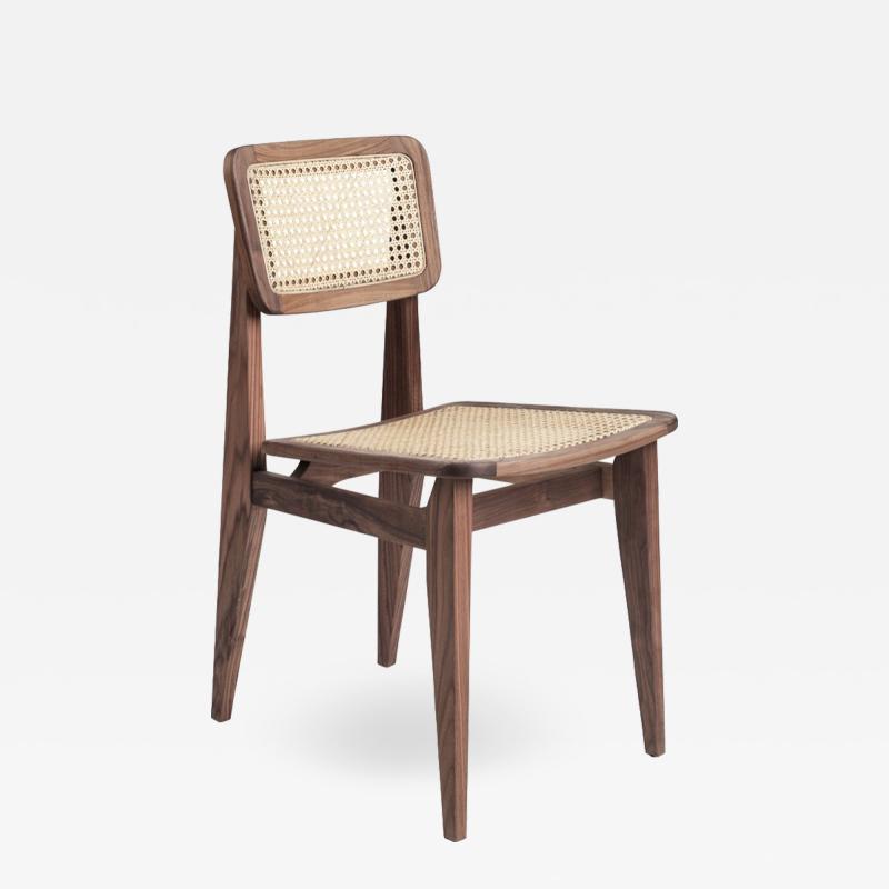 Marcel Gascoin Marcel Gascoin C Chair Dining Chair in American Walnut