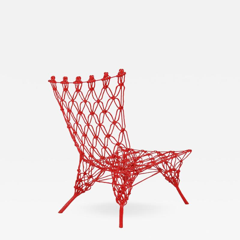 Marcel Wanders Limited Edition Rouge Knotted Chair by Marcel Wanders