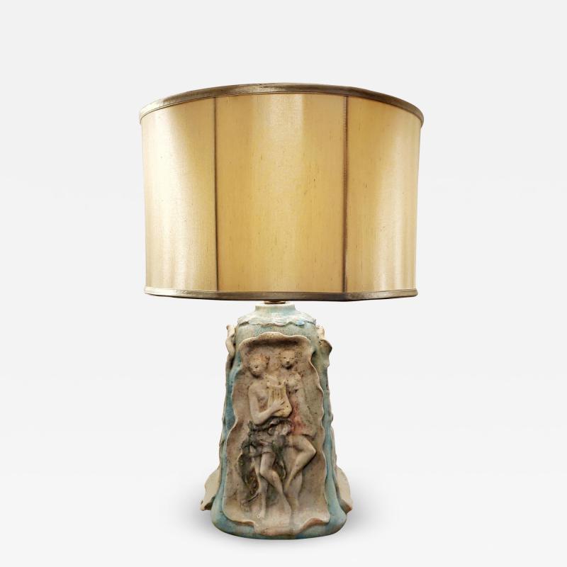 Marcello Fantoni MARCELLO FANTONI NEOCLASSICAL TABLE LAMP