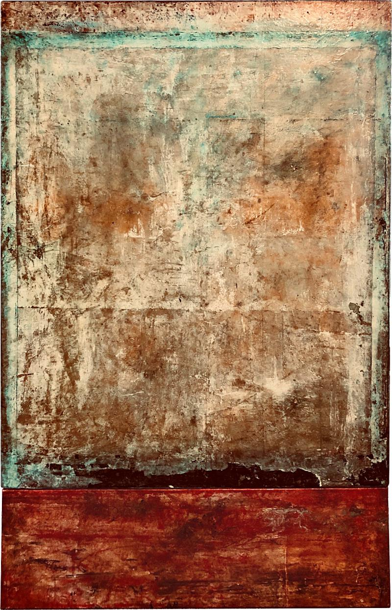Marcia Myers Frammento Del Muro Diptych