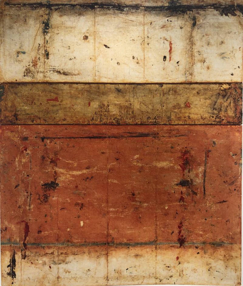 Marcia Myers SCAVI CLVI Triptych