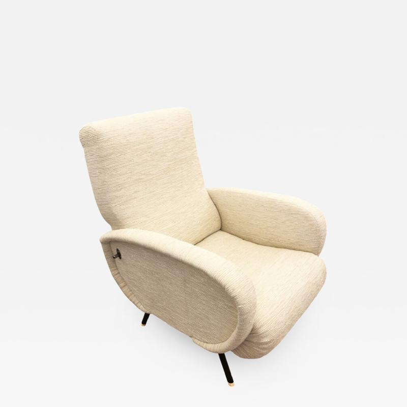 Marco Zanuso Mid Century Recliner in the Manner of Marco Zanuso