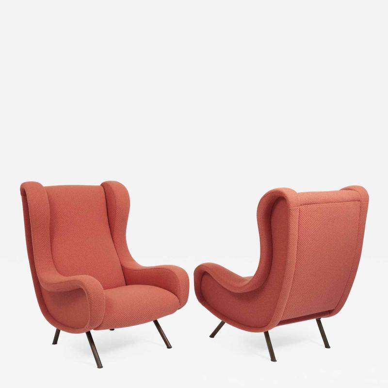Marco Zanuso Pair of Senior armchairs