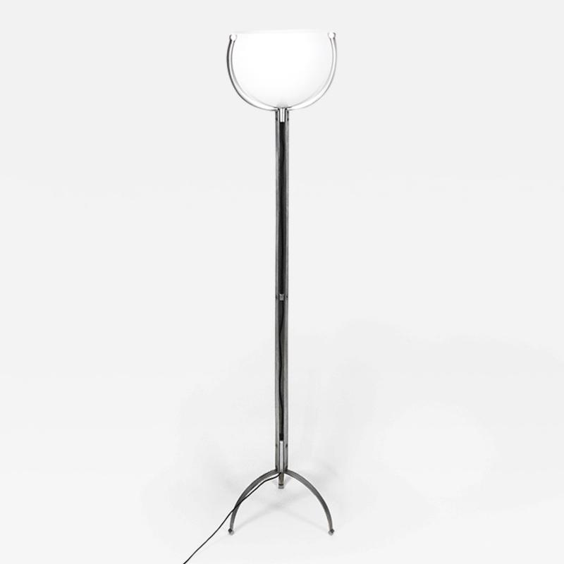 Marco Zanuso Rare Tripod Floor Lamp for O Luce