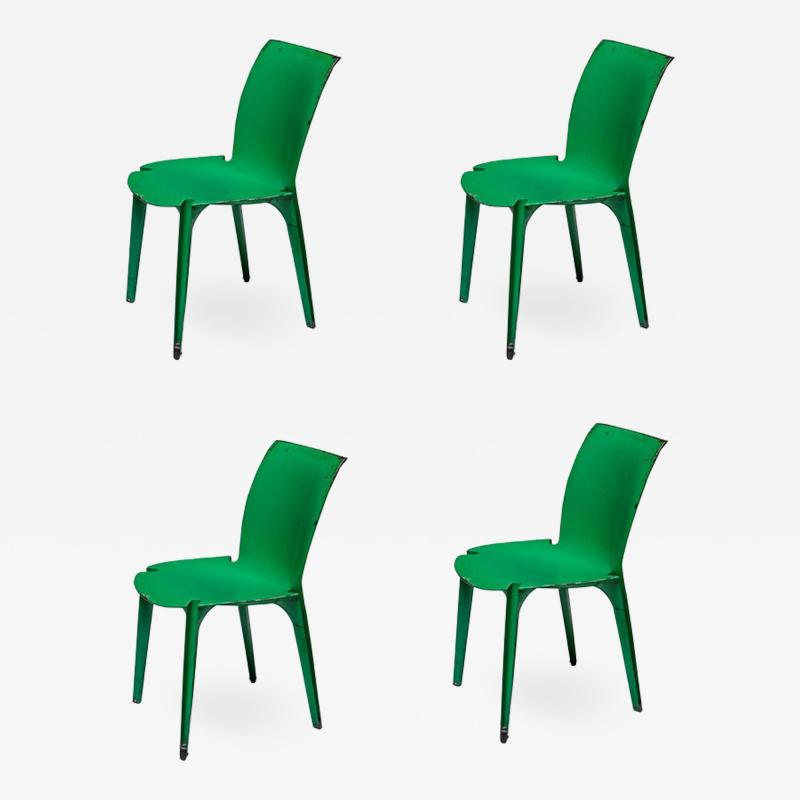 Marco Zanuso Set of Four Lambda Chairs by Richard Sapper and Marco Zanuso for Gavina
