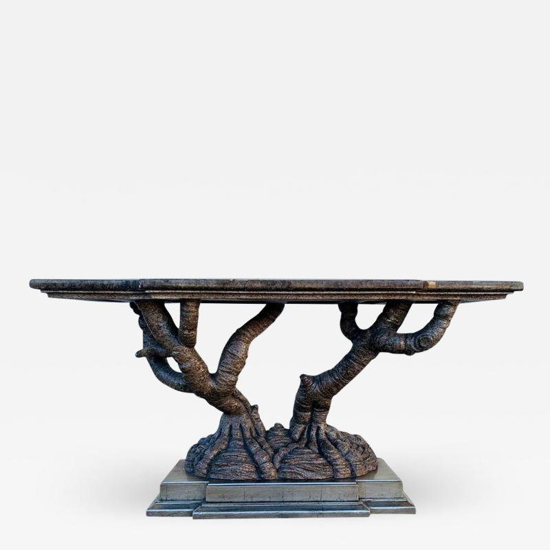 Marge Carson Stunning Console Table by Marge Carson