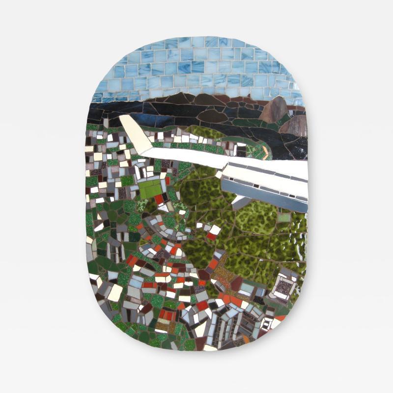 Mariana Lloyd One of a Kind Contemporary Mosaic ML0106 by Brazilian Artist Mariana Lloyd 2020