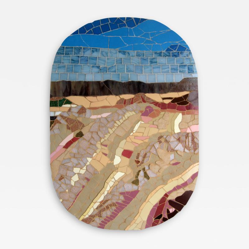 Mariana Lloyd One of a Kind Contemporary Mosaic ML1701 by Brazilian Artist Mariana Lloyd 2020