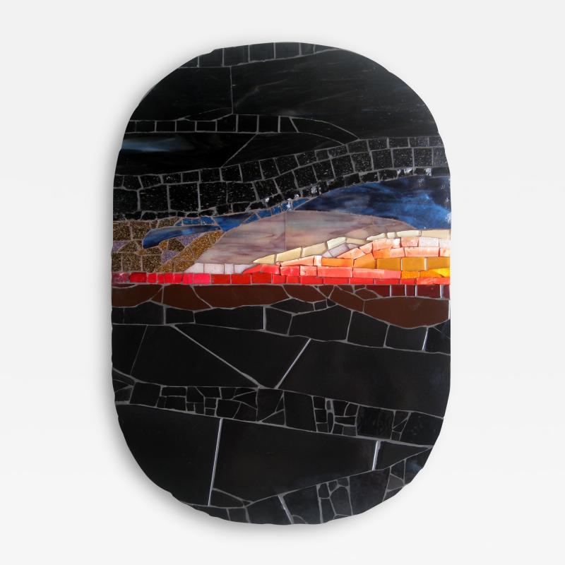 Mariana Lloyd One of a Kind Contemporary Mosaic ML2711 by Brazilian Artist Mariana Lloyd 2020