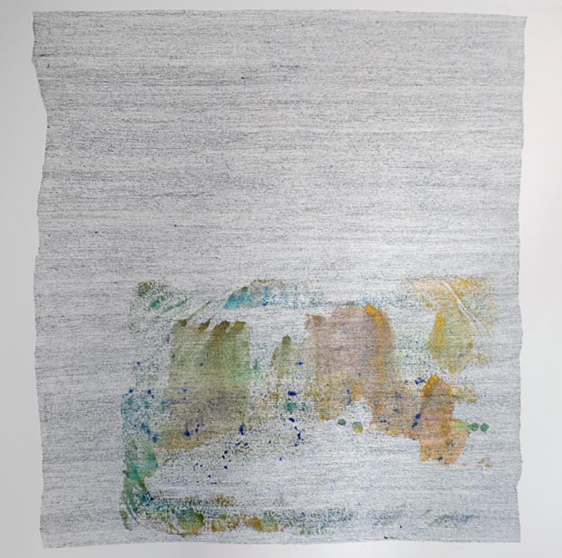 Marie Pierre Biau SANS TITRE 51 X 51 Contemporary drawing