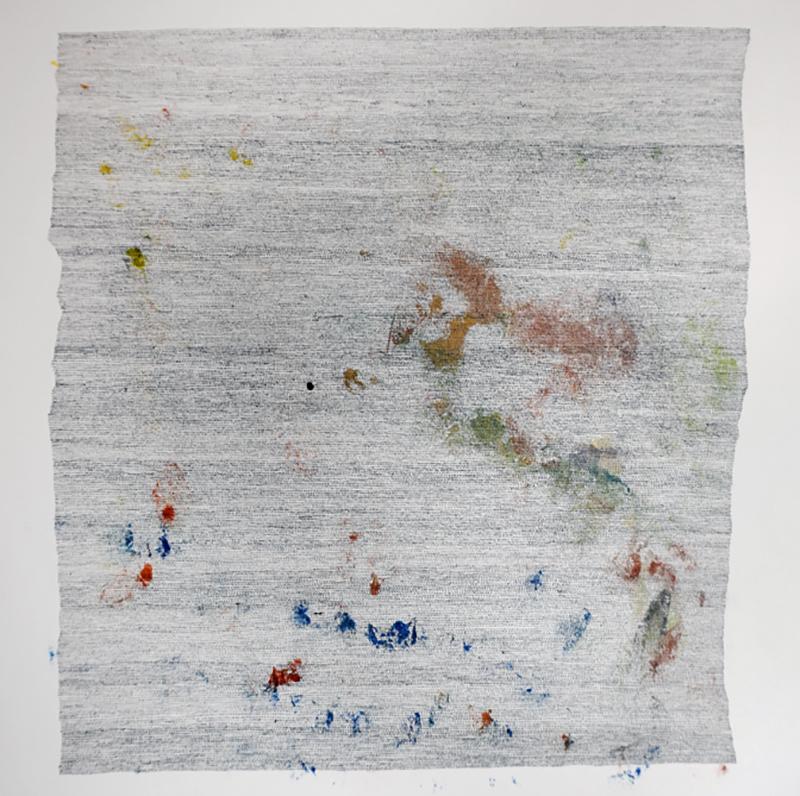 Marie Pierre Biau SANS TITRE 51 X 51 Contemporary drawing
