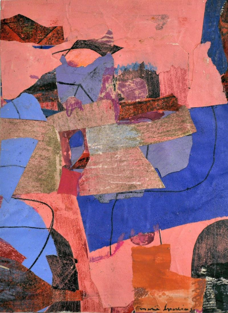 Marie Sperling Abstract Composition