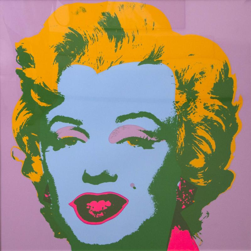 Marilyn Monroe Print by Sunday B Morning