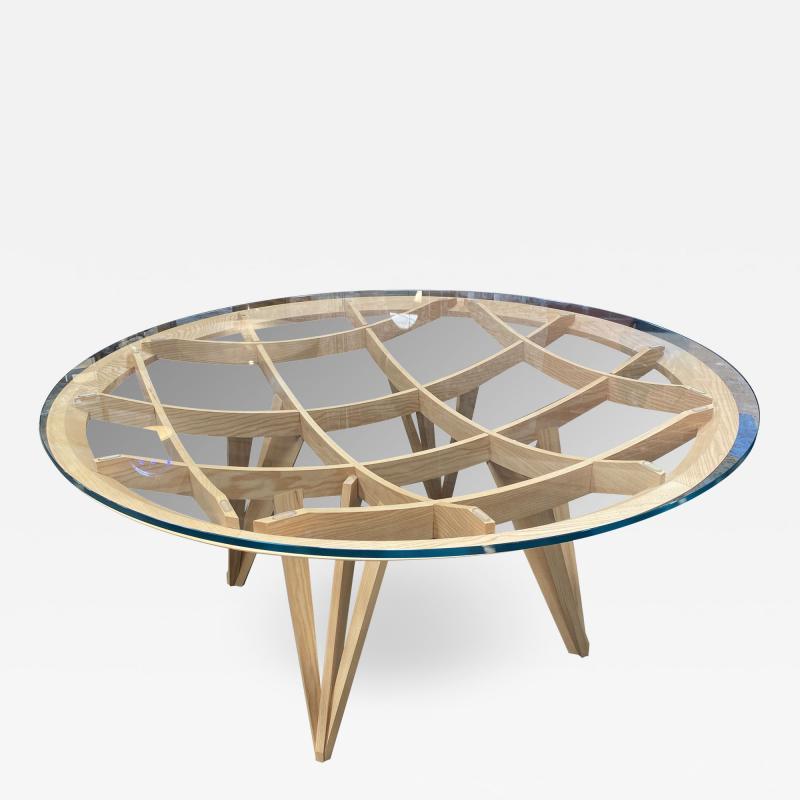 Mario Bellini Opera Roundl Dining Table Drawn by Mario Bellini