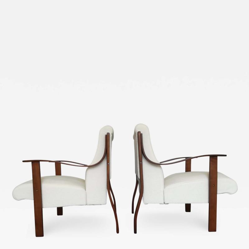 Mario Bellini Pair of Armchair by Mario Bellini for La Rinascente