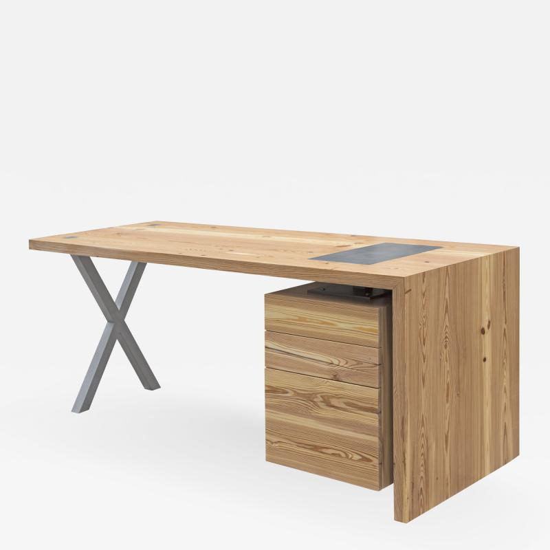 Mark Jupiter XRef Desk in Reclaimed Heartpine by Mark Jupiter