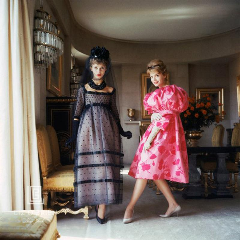 Mark Shaw Designers Homes Two Girls in Pink and Black