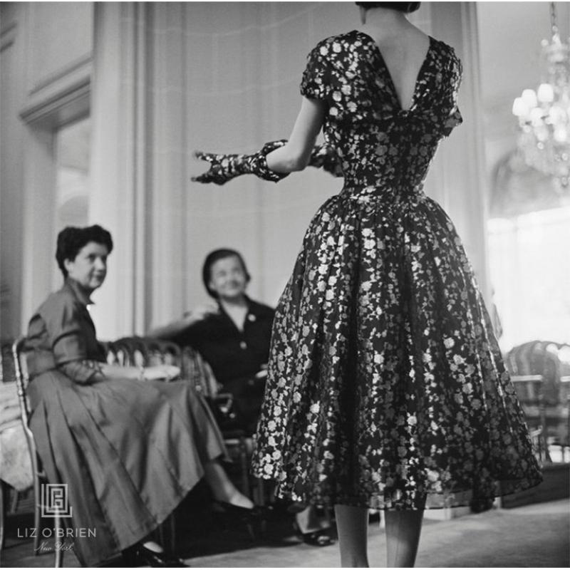 Mark Shaw Dior Vivante Metallic Dress