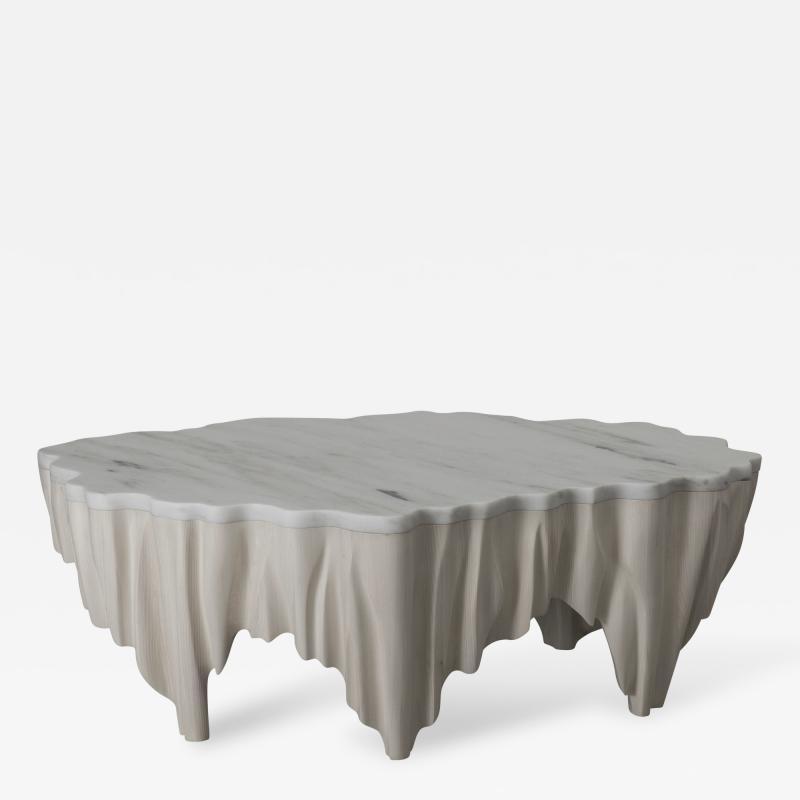 Markus Haase Markus Haase Ash and Marble Aeolian Table USA 2016