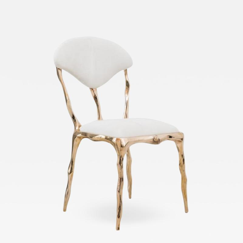 Markus Haase Markus Haase Faceted Bronze Dining Chair USA 2018