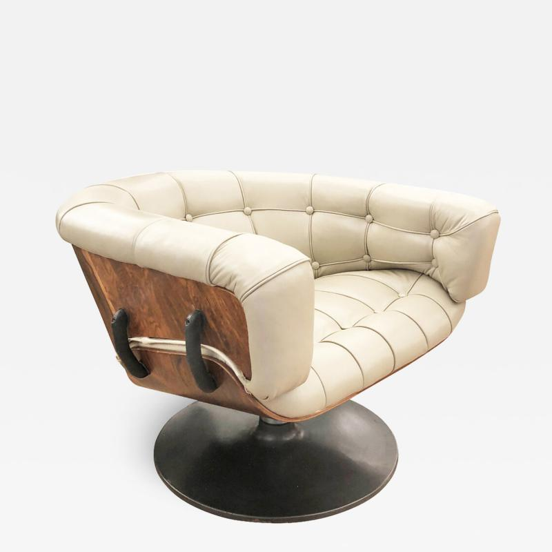 Martin Grierson Martin Grierson Swivel Lounge Chair for Artflex Italy 1960s