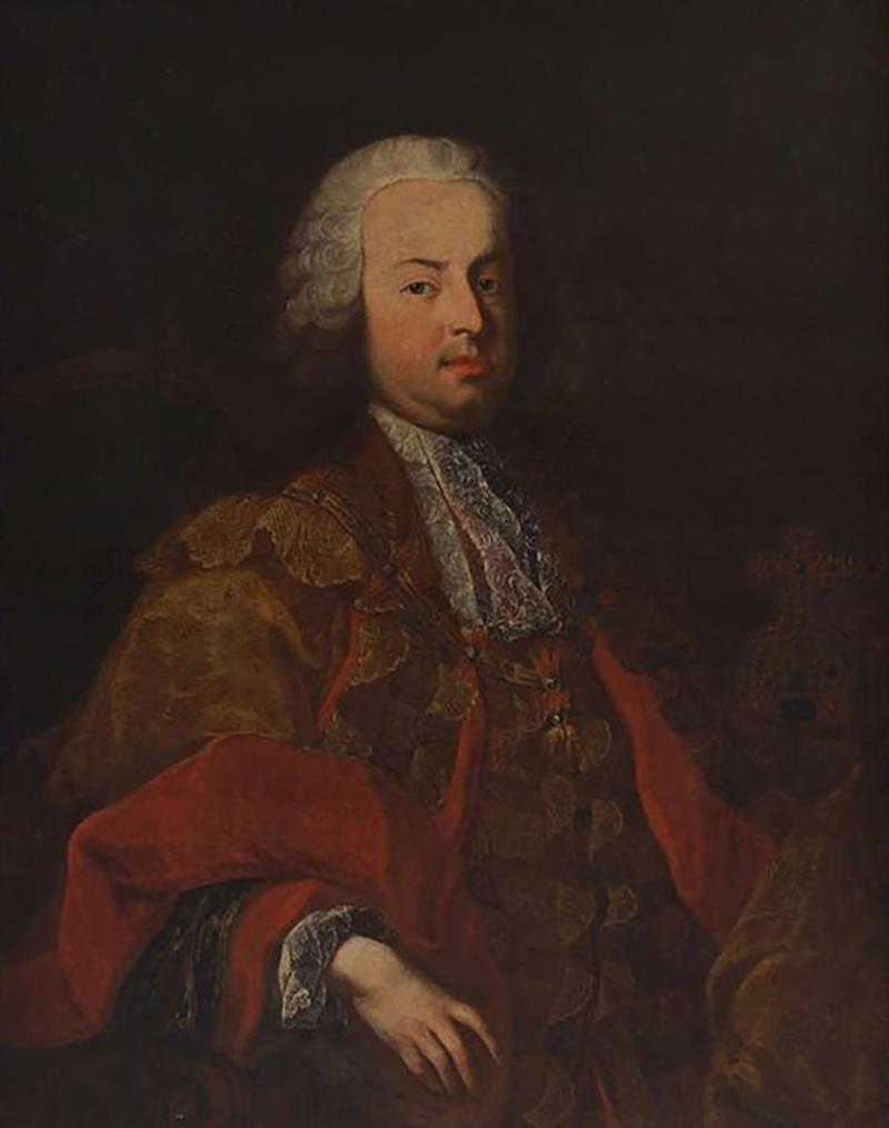 Martin van Meytens Portrait of Emperor Francis I Martin van Meytens the Younger
