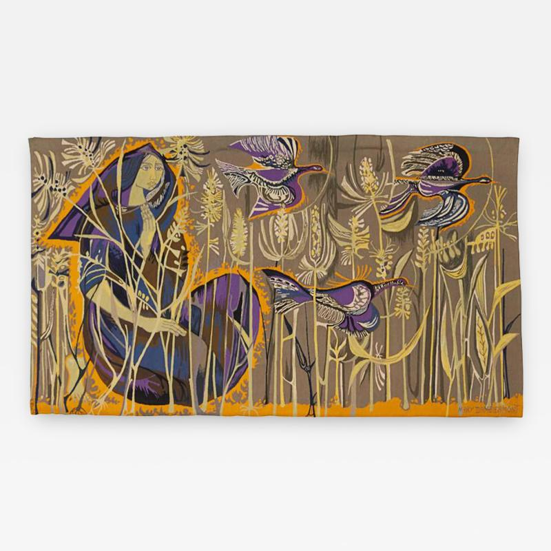 Mary Dambiermont Exquisite Tapestry by Mary Dambiermont Belgian