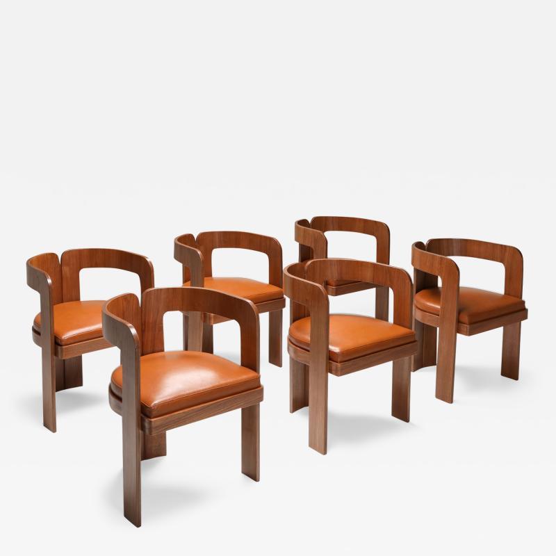 Marzio Cecchi Marzio Cecchi Dining Chairs 1970s