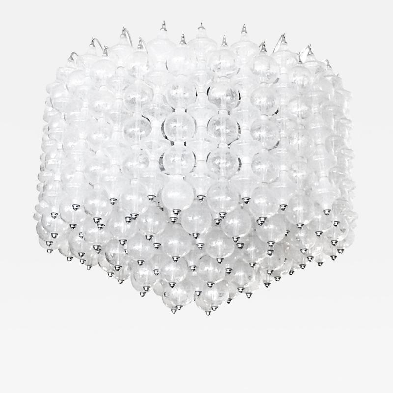 Massive Venini Murano Glass Chandelier