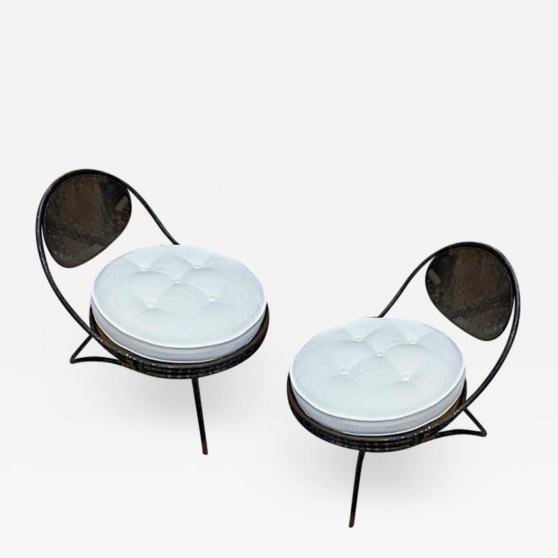 Mathieu Mat got Mathieu Mat got Pair of Chairs Model Copacabana in Genuine Vintage Condition