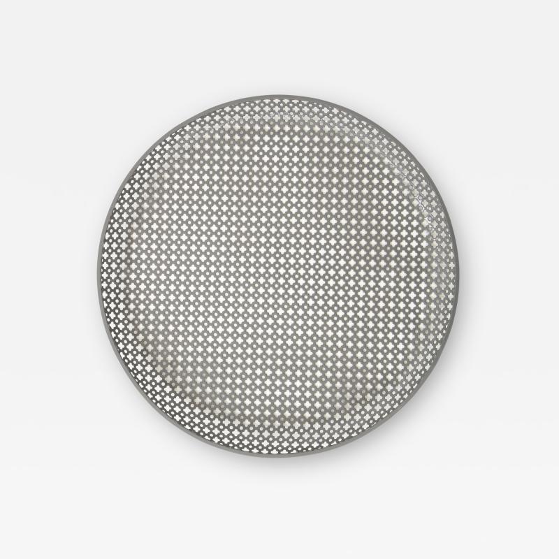 Mathieu Mat got Perforated Enameled Platter by Mathieu Mat got