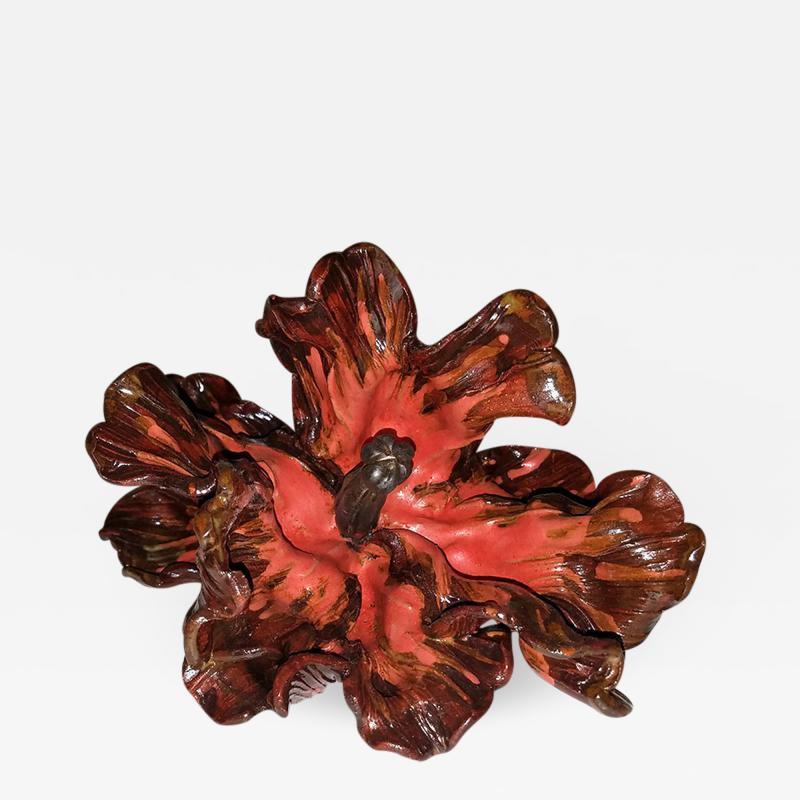 Matthew Solomon Matthew Solomon Glazed Ceramic Tulip Red