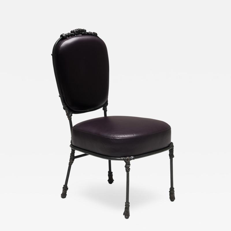 Mattia Bonetti Chair Congo Bronze 2014