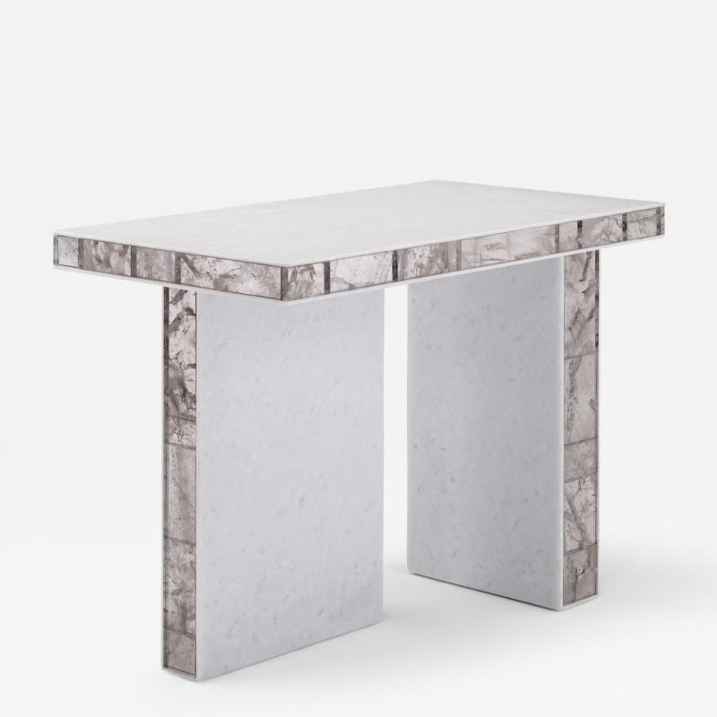 Mattia Bonetti Side Table Quartz Rock Crystal 2014
