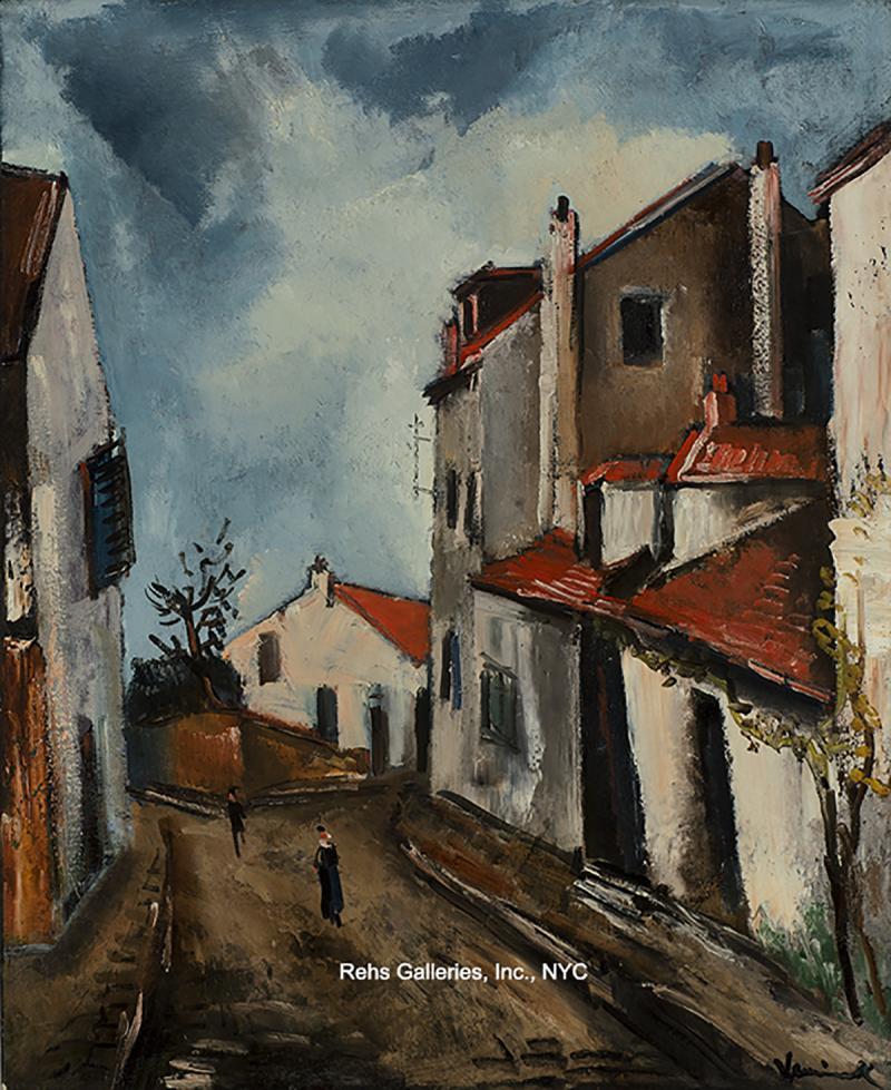 Maurice De Vlaminck Rue de Village