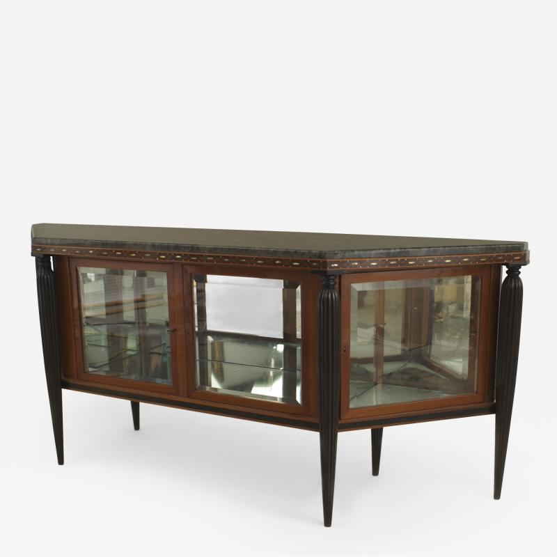 Maurice Dufr ne French Art Deco Mahogany Sideboard Cabinet