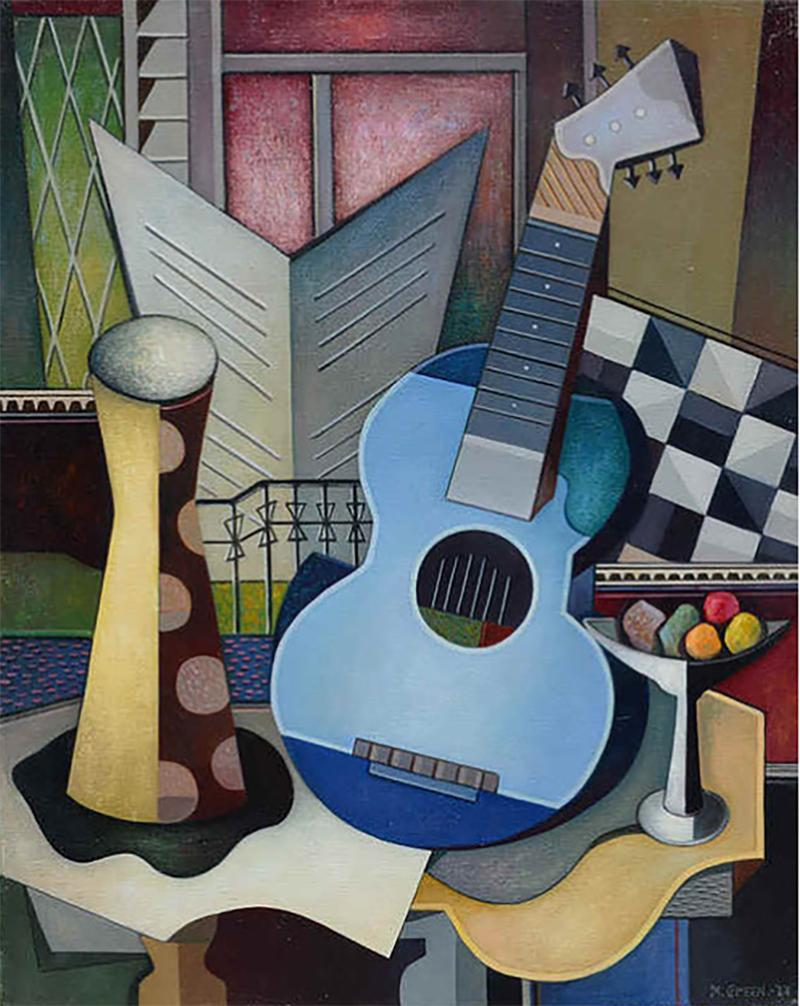 Maurice Green Blues Guitar