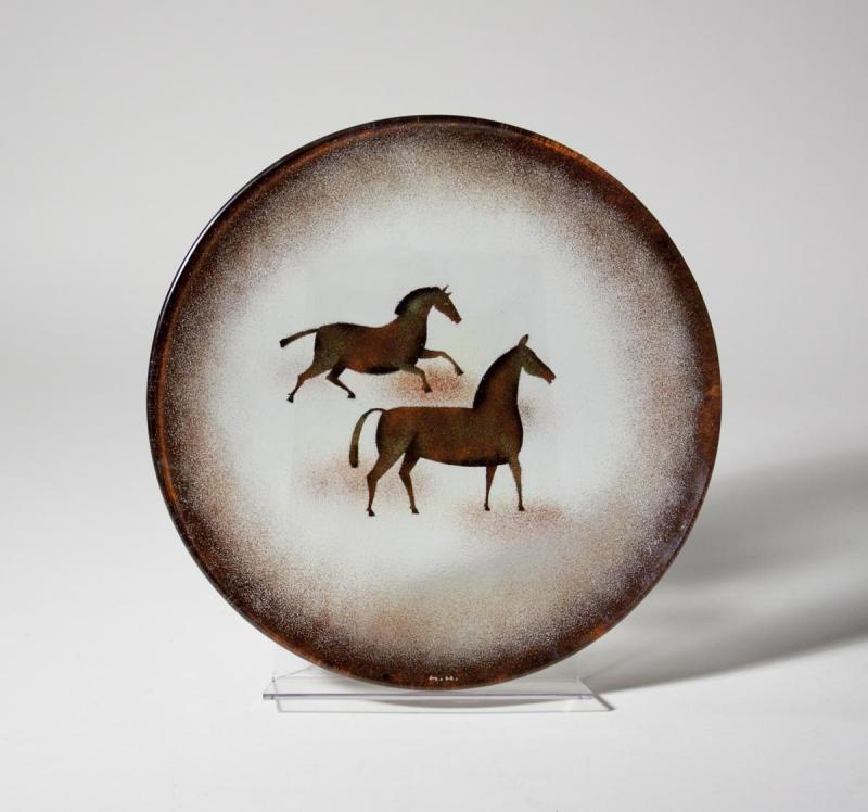 Maurice Heaton Rare Decorated Charger