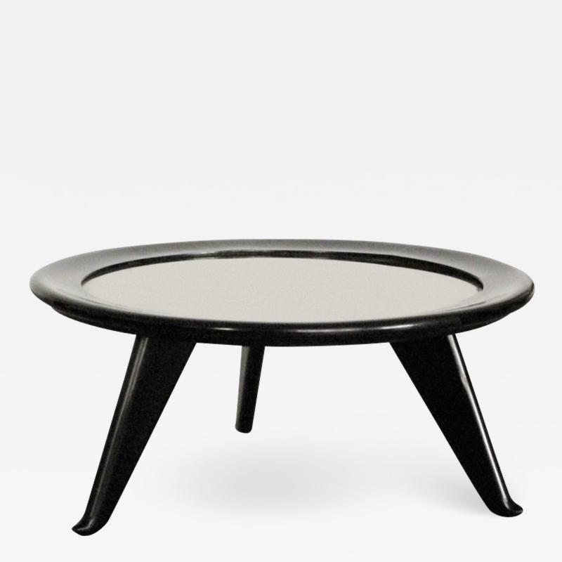 Maurice Jallot 1940s Round Coffee Table