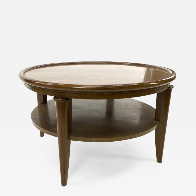 Maurice Jallot Maurice Jallot superb quality Art Deco 2 tier coffee table