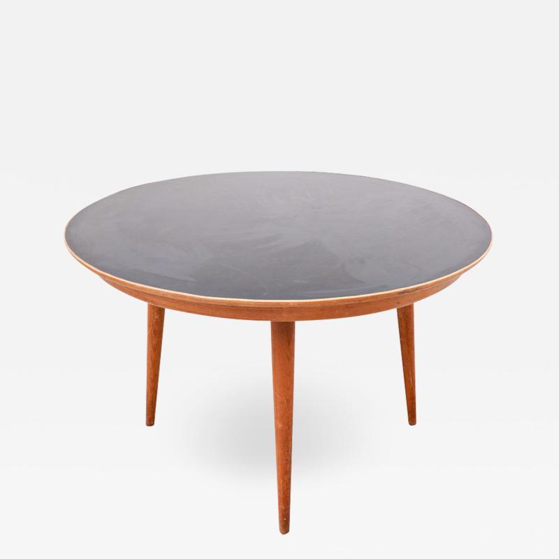 Max Bill Coffee Table Model Dreirundtisch by Max Bill Swiss 1949