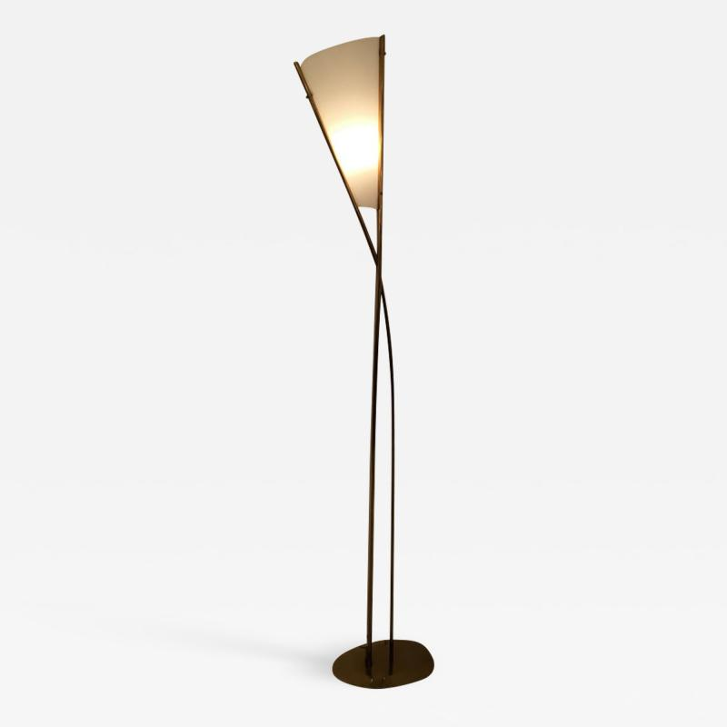 Max Ingrand 1819 Model Floor Lamp by Max Ingrand for Fontana Arte Italy circa 1959
