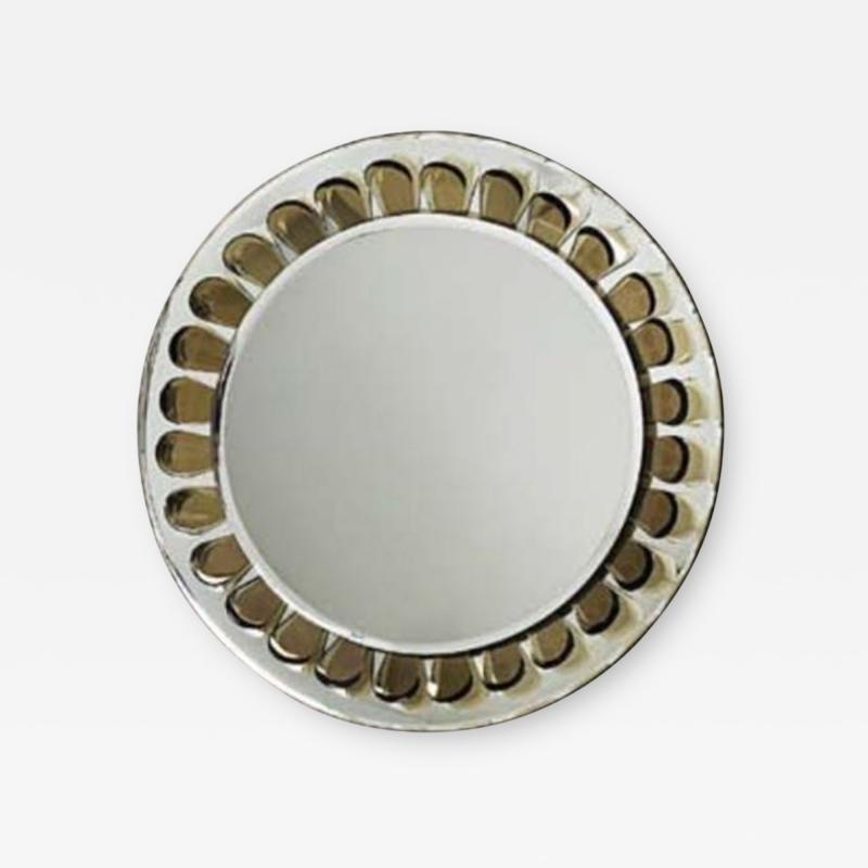 Max Ingrand A Very Rare Round Wall Mirror by Max Ingrand by Fontana Arte