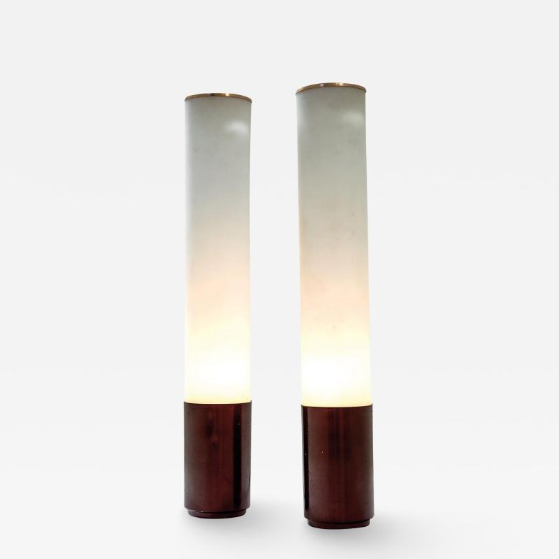 Max Ingrand A pair of illuminated vases