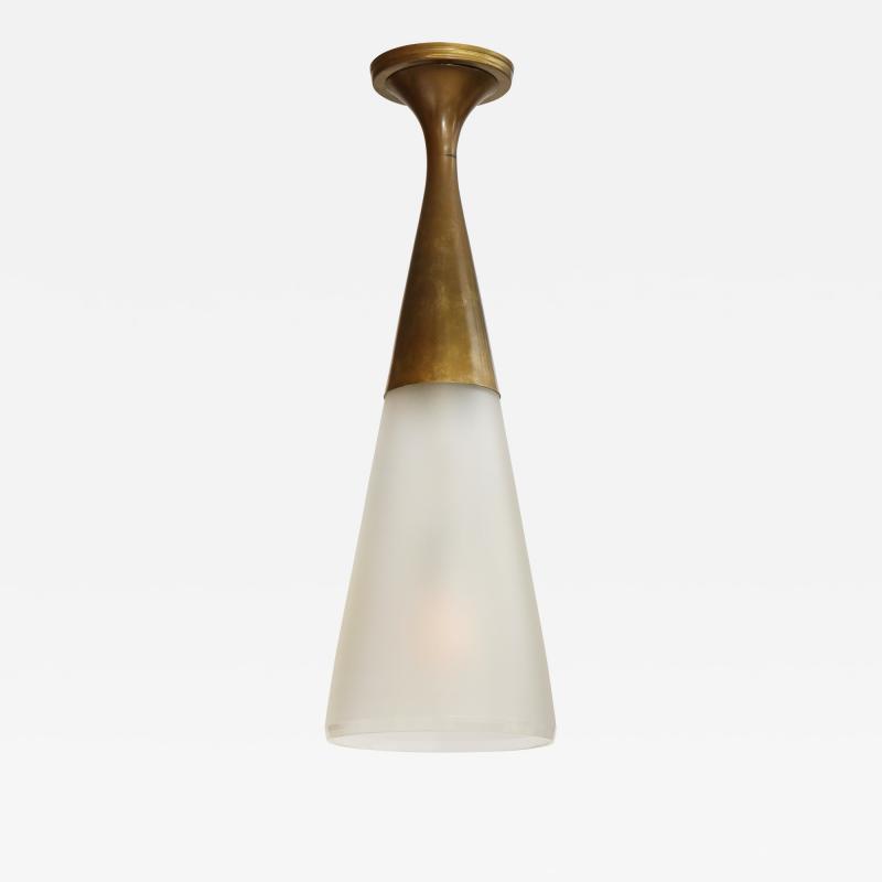 Max Ingrand Flush Mount Ceiling Light by Max Ingrand for Fontana Arte