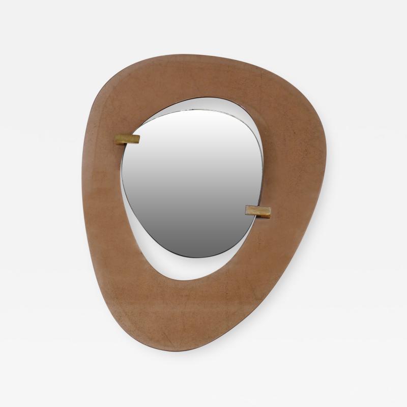 Max Ingrand Max Ingrand Mid Century mirror for Fontana Arte Italy 1950s