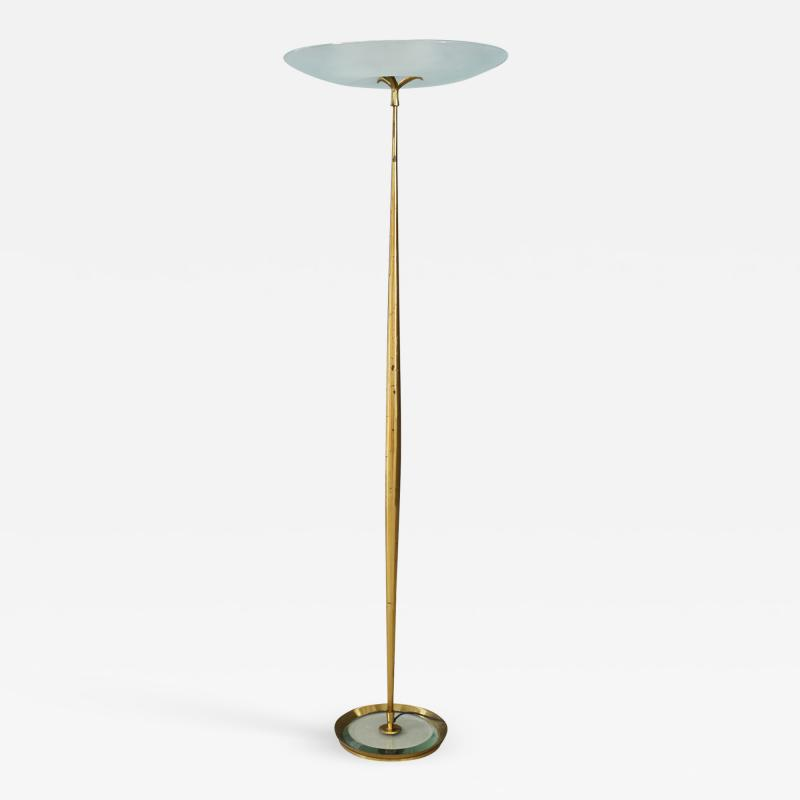 Max Ingrand Max Ingrand for Fontana Arte Floor Lamps MidCentury in brass 1950s