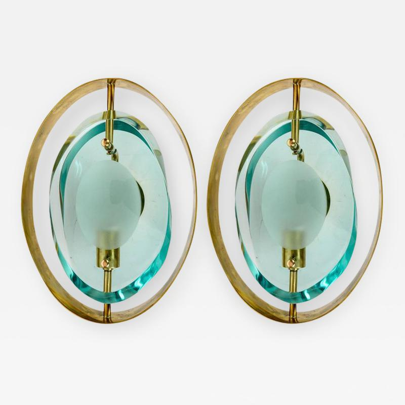 Max Ingrand Pair of sconces in the style of Max Ingrand modele 2020